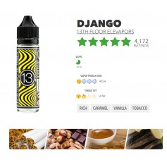 DJANGO 50ml booster -AWARD WININING BEST TOBACCO VAPE