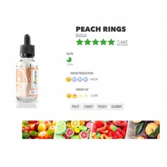 Peach Rings 60ml -Emoji liquids