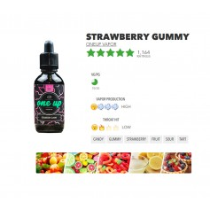 Strawberry Gummy 60ml - One Up Vapor