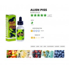 Alien Piss 60ml - bomb sauce eliquid